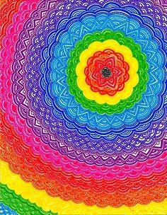 """Mandala"" [Photo courtesy of Brighter Than Neon Lights]'h4d'120908"