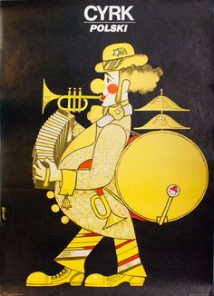 1-man-band clown - Polski. Maciej Hibner