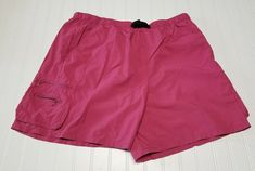Columbia Nylon Hiking Pink Shorts Women Size XL With Belt Cargo Pockets Camping White Pig, Hiking Shorts, Columbia Sportswear, Pink Shorts, Casual Shorts, Camping Fashion, Belt, Pockets, Clothes For Women