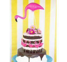 Inspiração: Festa com tema Flamingos - Ideias em Casa
