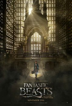 Directed by David Yates. With Ezra Miller, Eddie Redmayne, Colin Farrell, Ron Perlman. The adventures of writer Newt Scamander in New York's secret community of witches and wizards seventy years before Harry Potter reads his book in school. Great Movies, New Movies, Movies To Watch, Movies Online, 2016 Movies, Amazing Movies, Film Watch, Blockbuster Movies, Family Movies