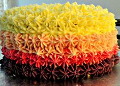 Starbust Ombre Cake