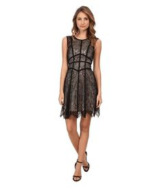 Love the ABS Allen Schwartz Sleeveless Lace Dress w/ Grosgrain Seams on Wantering.