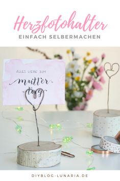 DIY photo holder made of paper clip - Diy & Craft Mix Trend Paper Clips Diy, Mother's Day Diy, Christmas Gifts For Mom, Farmhouse Style Decorating, Diy Photo, Some Ideas, Fun Projects, Diy For Kids, Mother Day Gifts