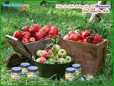 Thức ăn dinh dưỡng chế biến sẵn Humana táo nguyên chất (125g).Thành phần cấu tạo: 100% táo nghiền.  Bổ sung chứa các thành phần hoàn toàn tự nhiên, giàu dưỡng chất, dễ tiêu hóa hấp thu.