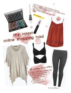 """""""My latest online shopping haul"""" by gardenofroses on Polyvore"""