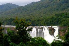 Athirapally waterfalls in kerala