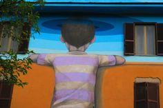 Street Art a Roma: Tor Marancia. Un itinerario in un quartiere inusuale di Roma, attraverso le immagini di bellissimi Murales