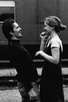 Julie Delpy in Before Sunrise obsessedwithethanhawke Ethan Hawke & Julie Delpy in Before Sunrise Shot by Gabriela Brandenstein The post Julie Delpy in Before Sunrise obsessedwithethanhawke appeared first on Film. Julie Delpy, Before Trilogy, Photographie Portrait Inspiration, Ethan Hawke, Romantic Films, Movies And Series, Painted Ladies, Cute Couples, Love Story