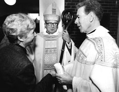 Paulist Fr. Donald Campbell at St. Lawrence Church in Minneapolis, Minnesota.