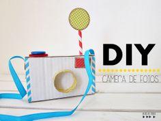 cardboard camera craft