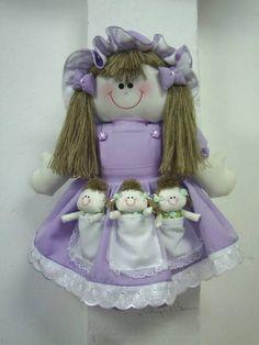 Boneca de Pano Maezinha