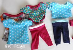 (9) Name: 'Sewing : 12' Baby Doll Clothes