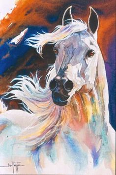 I don't know how many of you are familiar with Horses In Art but it is a gorgeous magazine devoted to equine art and artists. Davina has a huge passion for horses AND art so she bought the magazine a… Horse Drawings, Animal Drawings, Art Drawings, Drawing Animals, Abstract Drawings, Drawing Faces, Drawing Art, Pencil Drawings, Watercolor Horse
