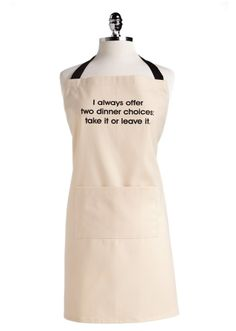This is the apron that every mom needs!