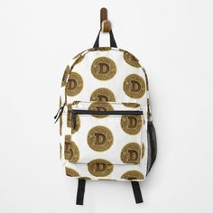 Buy Dogecoin, Health And Safety, Slogan, Your Design, Fashion Backpack, Shirt Designs, Finding Yourself, Backpacks, Art Prints