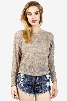 Sandstorm Knit Sweater
