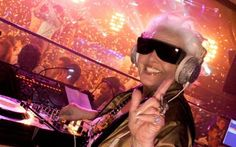 Grandma DJ Ruth!!! So Hood!!