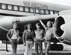 Led Zeppelin plane