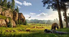 Pleistocene Landscape by José Emilio Toro Pareja