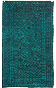 I am a huge fan of dyed rugs! Talk about an unexpected twist on a traditional rug
