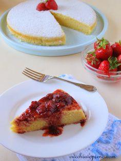 Bolo de ricota, limão e amêndoa | Cucchiaio pieno - receitas vegetarianas, italianas e muito mais! Com passo-a-passo e fotografia.