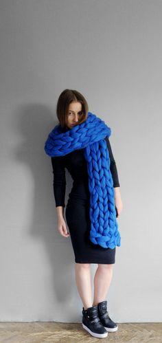 800 Grobstrick Schal Loop  Trend kuschlig NEU Fashion taupe
