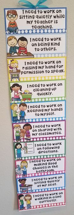 Classroom behavior chart - Behavior Specific Clip Chart For Those Kids Who Can't Remember Why They Moved Their Clip Mrs McGinnis' Little Zizzers Classroom Behavior Chart, Kindergarten Behavior, Behavior Clip Charts, Classroom Charts, Classroom Behavior Management, Behaviour Management, Classroom Rules, Kindergarten Classroom, Future Classroom