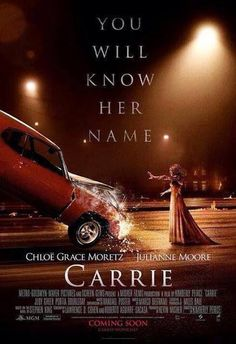 Carrie 2013 Horror Movie Posters, Cinema Posters, Horror Movies, Ansel Elgort, Julianne Moore, Carrie La Vengeance, Internet Movies, Movies Online, Scary Movies