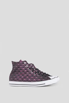 CONVERSE CT ALL STAR HI CLASH COLLECTION BLACK CHATEAU