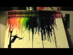 Singing in the rain crayon art. I wanna make this but with a bunch of different shades of blue. Blue Crayon, Crayon Art, Grace Art, Arts And Crafts, Diy Crafts, Singing In The Rain, Melting Crayons, Classic Image, Photoshop Photography