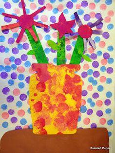 PreKandKSharing: Patterns and Painted Paper
