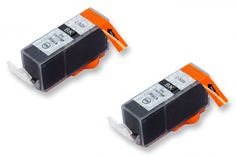 Náplně 2x CANON PGI-525Bk - Dvojbalení - kompatibilní