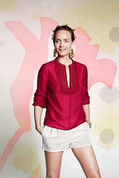 H&M's sustainable fashion collection, Conscious Exclusive, hits stores April 10-- gotta get this shirt!!!