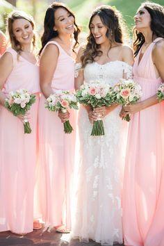 From San Francisco to Cabo: A Fun Destination Wedding Wedding Blog, Wedding Styles, Wedding Gowns, Destination Wedding, Wedding Ideas, Wedding Bouquets, Wedding Venues, Dream Wedding, Pink Bridesmaid Dresses