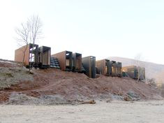 Image 1 of 1 from gallery of Is the Pritzker Prize Still Relevant Today? Rural House designed by RCR Arquitectes. Rafael Aranda, Carme Pigem, and Ramón Vilalta of RCR Arquitectes won the Pritzker last year. Image Courtesy of RCR Arquitectes Residential Architecture, Contemporary Architecture, Landscape Architecture, Interior Architecture, Rural House, Tiny House Cabin, Famous Architects, Prefab Homes, House Design