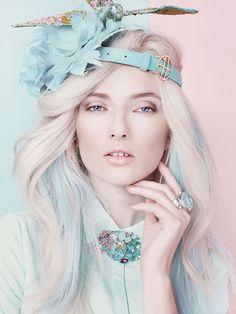 pastel hair - M: Veronika, P: Natalia Madejska, S: Nina Kepplinger