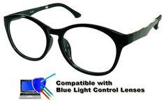 3800d7b384 Burlington - Black Glasses  Compatible with Optional Blue Light Control  Lenses