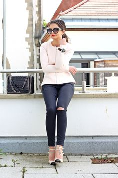 clean, chic outfit - FashionHippieLoves