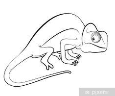 Výsledok vyhľadávania obrázkov pre dopyt chameleon kresleny Chameleon, Disney Characters, Fictional Characters, Art, Art Background, Chameleons, Kunst, Fantasy Characters, Art Education