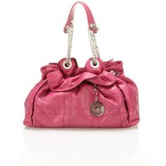 Dior Le 30 Satchel In Raspberry - Beyond the Rack ❤ liked on Polyvore