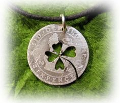 """Irish lucky six pence. For the """"Sixpence in Her shoe"""""""