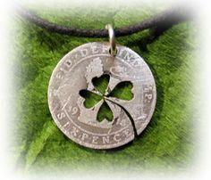 Irish lucky six pence