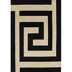 Alliyah Handmade New Zeeland Blend Black Wool Rug (5 x 8) | Overstock™ Shopping - Great Deals on Alliyah Rugs 5x8 - 6x9 Rugs