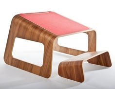 Knelt Desk by Ubiquity Design Studio. I'd have to try it out first, but I'm pretty sure I'd love this desk.