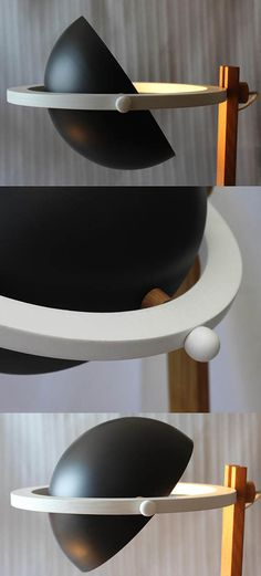 Lámpara de pie de Saturno