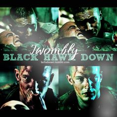 Tommy as Twombly - Black Hawk Down (2001) / TH0078A