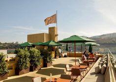 rooftop porto douro lounge hotel vincci
