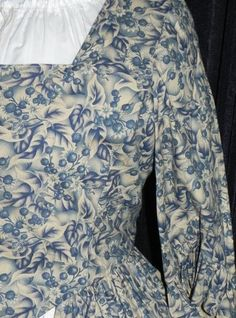 A closer view of the pattern on my gown