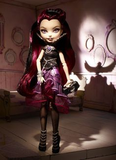 My toys,loves and fashions: Ever After High - Boneca da Raven Queen!!!